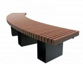 Садово-парковая скамейка «Радиус»