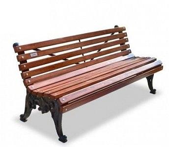 Скамейка чугунная «Белые ночи»